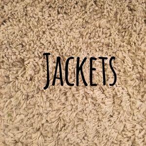 Jackets. Cardigans.